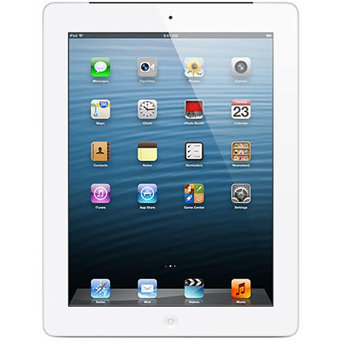 Apple AT&T iPad with Retina Display - 32GB Wi-Fi + Cellular (White)