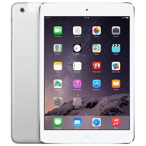 Apple AT&T iPad mini - 16GB Wi-Fi + Cellular (White & Silver)