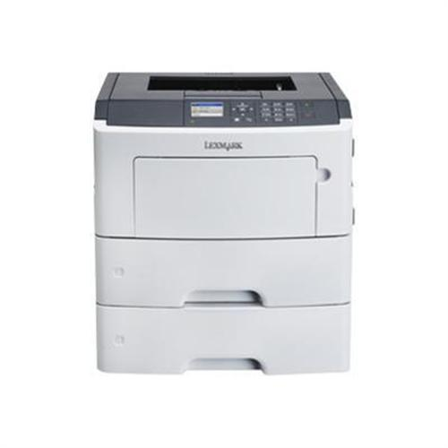 Lexmark MS610dtn - Printer - monochrome - Duplex - laser - A4/Legal - 1200 x 1200 dpi - up to 50 ppm - capacity: 1200 sheets - USB, Gigabit LAN, USB host