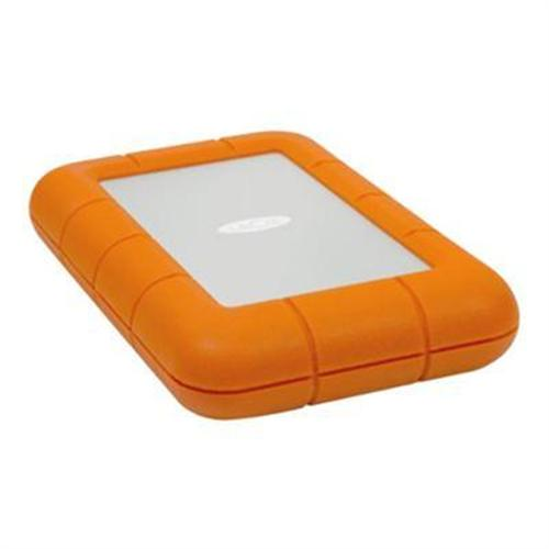 LaCie Rugged USB3 - 120GB Solid State Drive (SSD) - Thunderbolt and USB 3.0 - 380MB/s Transfer Rate
