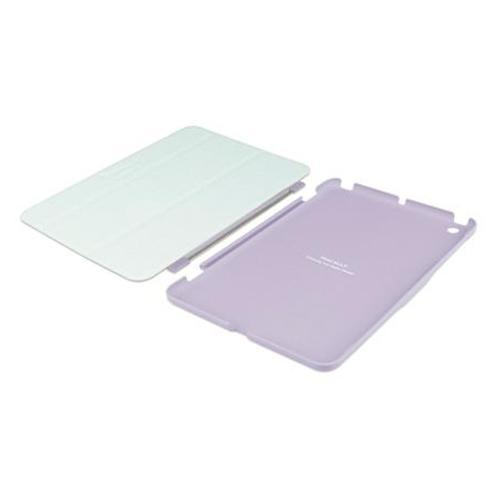 MacAlly Peripherals Reversible Cover and Hardshell Case with Stand Designed for iPad Mini - Purple