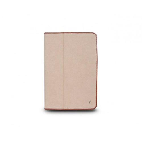 The Joy Factory JouJou for iPad mini / Microfiber Snap-on Stand/Case with Synthetic Leather Trim - Bronze