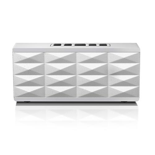 Eagle Tech Computers Portable Bluetooth Speaker - Wireless Music Streaming and Hands-Free Calling (White)
