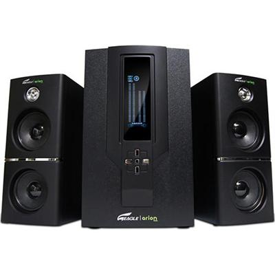 Eagle Tech Computers 2.1 Soundstage Speakers with Subwoofer & Remote - 5.25