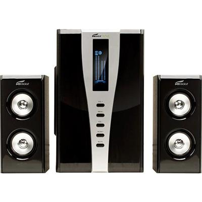 Eagle Tech Computers 2.1 Soundstage Speakers w/Subwoofer & Remote - 6.5