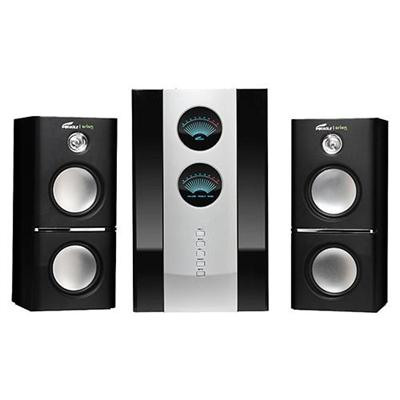 Eagle Tech Computers 2.1 Soundstage Speakers w/Subwoofer & Remote - 5.25