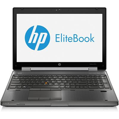 HP Smart Buy EliteBook 8570w Intel Core i7-3740QM 2.70GHz Mobile Workstation - 8GB RAM, 750GB HDD, 15.6