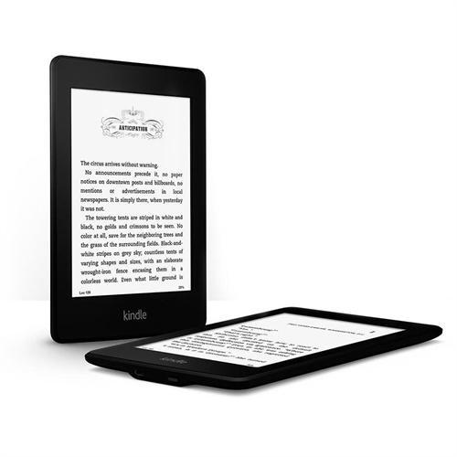 Amazon Kindle Paperwhite 3G + Wi-Fi, Paperwhite Display, Higher Resolution, Higher Contrast, Built-in Light - Includes Special Offers - Black