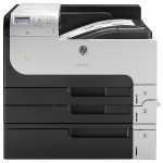 LaserJet Enterprise 700 Printer M712xh - Printer - monochrome - Duplex - laser - A3/Ledger - 1200 dpi - up to 40 ppm - capacity: 1100 sheets - USB, Gigabit LAN, USB host