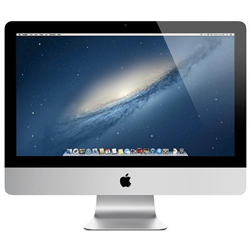 "Apple 21.5"" iMac Quad-Core Intel Core i5 2.7GHz, 8GB RAM, 1TB Hard Drive, NVIDIA GeForce GT 640M graphics processor with 512MB of GDDR5 memory, Two Thunderbolt ports, Apple Wireless Keyboard and Magic Mouse, Mac OS X Mountain Lion"