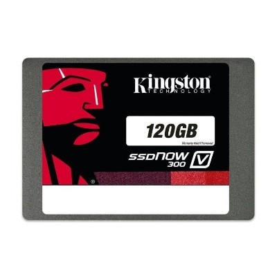 Kingston DigitalSSDNow V300 - solid state drive - 120 GB - SATA 6Gb/s(SV300S37A/120G)