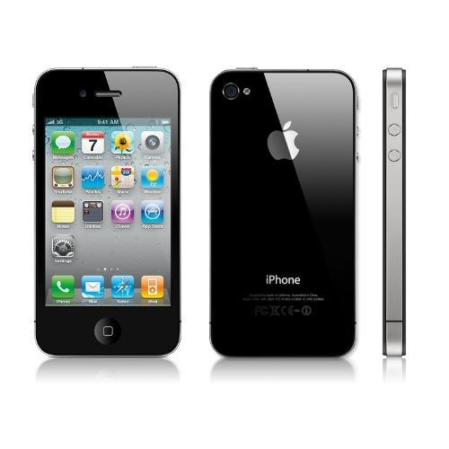 Verizon Apple iPhone iPhone 4 EVDO Mobile Hotspot Phone on IOS 4 W/8 GB Hard Drive - Black w/ iPhone Service Upgrade 2 Year