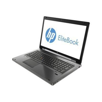 HP Smart Buy EliteBook 8770w Intel Core i7-3740QM 2.70GHz Mobile Workstation - 8GB RAM, 180GB SSD+500GB HDD, 17.3