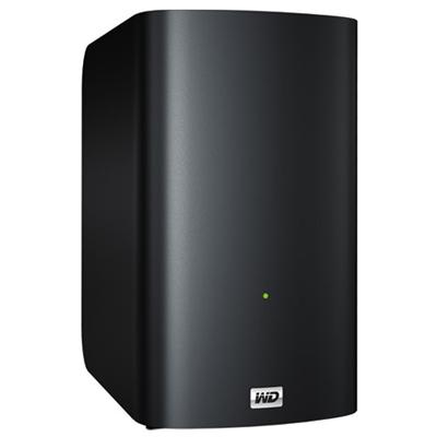 WD My Book Live Duo 8TB Personal Cloud Storage NAS Share Files and Photos (WDBVHT0080JCH-NESN)