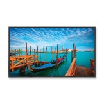 "55"" High-Performance LED Backlit Commercial-Grade Display with Integrated Speakers"