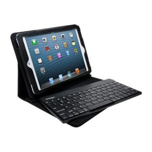 Kensington KeyFolio Pro 2 Removable Keyboard Case & Stand for iPad mini 3/2/1 - Black