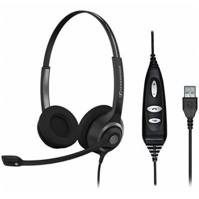 Sennheiser ElectronicSC 260 USB CTRL Dual-sided Professional Headset(SC260 USB CTRL)