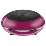 Satechi iTour- POP Ultra Portable Rechargeable Speaker - Pink B005DI1PL2