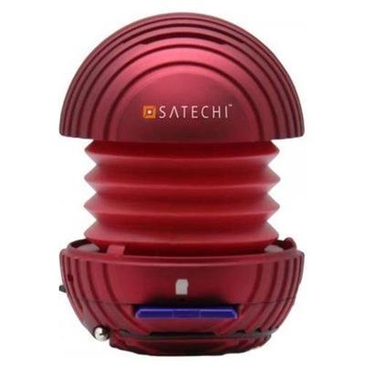 SatechiSD Mini Portable Pocket Speaker - Red(B0064CYL12)