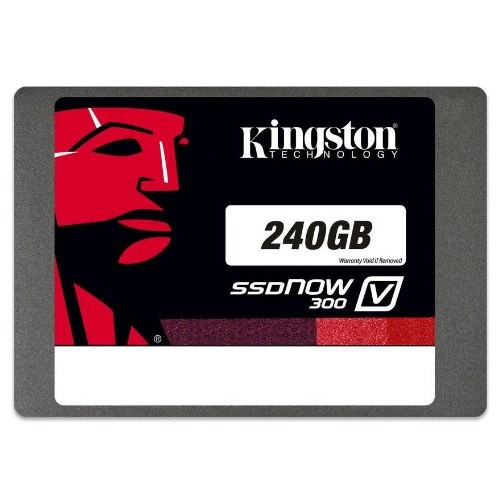 Kingston Digital 240GB SSDNOW V300 SATA 3 2.5 (7MM HEIGHT) NOTEBOOK BUNDLE KIT W/ADP