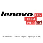 Lenovo 10Gbps Ethernet X520-DA2 Server Adapter by Intel 0C19486