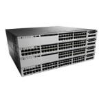 Catalyst 3850-24P-E - Switch - L3 - managed - 24 x 10/100/1000 (PoE+) - desktop, rack-mountable - PoE+ (435 W)