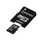 Transcend Premium - Flash memory card (microSDHC to SD adapter included) - 8 GB - UHS Class 1 / Class10 - 300x - microSDHC UHS-I TS8GUSDU1