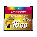 Transcend Ultimate - Flash memory card - 16 GB - 1000x - CompactFlash TS16GCF1000