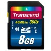 Transcend SDHC Class 10 UHS-I (Premium) - flash memory card - 8 GB - SDHC UHS-I