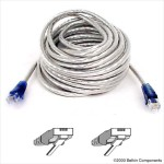 High Speed Internet Modem Cable - Phone cable - RJ-11 (M) to RJ-11 (M) - 7 ft - double shielded - molded, snagless - ice