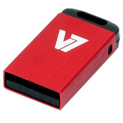 V74GB Nano USB Flash Drive - Red(VU24GCR-RED-2N)