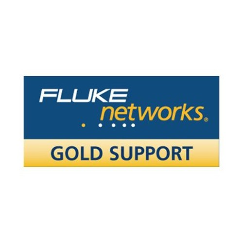 Fluke Networks Gold Support extended service agreement - 1 year