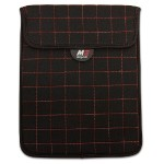 "NeoGrid Sleeve for iPad and 10"" Tablets - Black with Red Stitching"