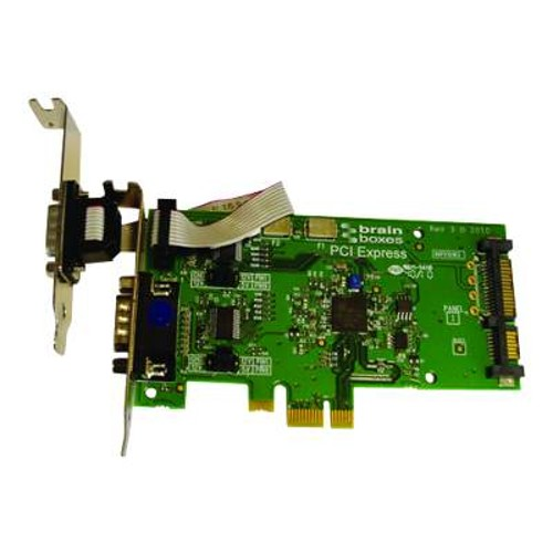 Brain Boxes LP PCIE 1+1XRS232