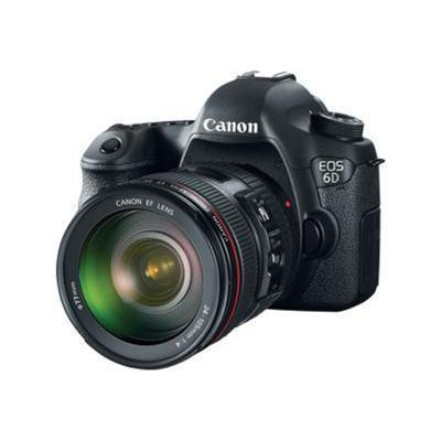 CanonEOS 6D - digital camera EF 24-105mm IS lens(8035B009)