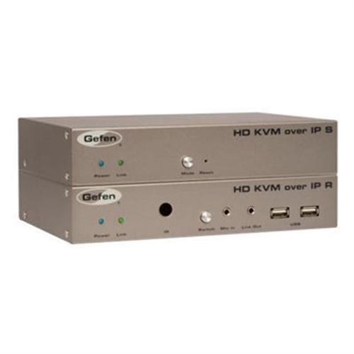 Gefen HD KVM over IP - KVM / audio / serial / USB/ infrared extender