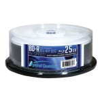 Optical Quantum Everest White Thermal Printable - 25 x BD-R - 25 GB 6x - white - printable inner hub - spindle