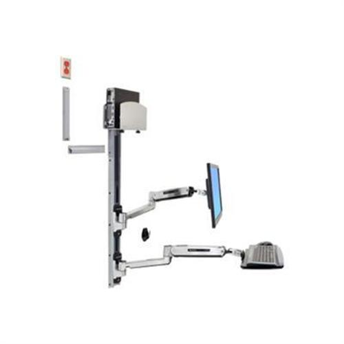Pcm Ergotron Lx Sit Stand Wall Mount System Mounting