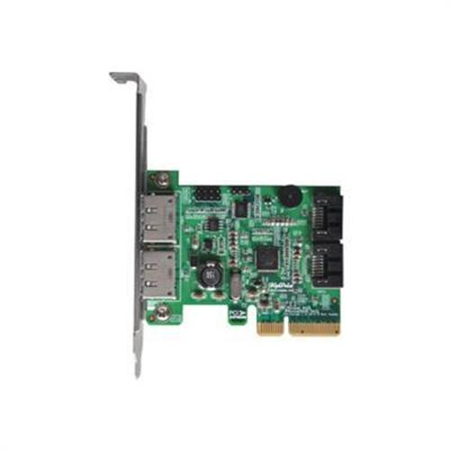 High Point Technologies Rocket 642L - storage controller (RAID) - SATA 6Gb/s / eSATA 6Gb/s - PCIe 2.0 x4