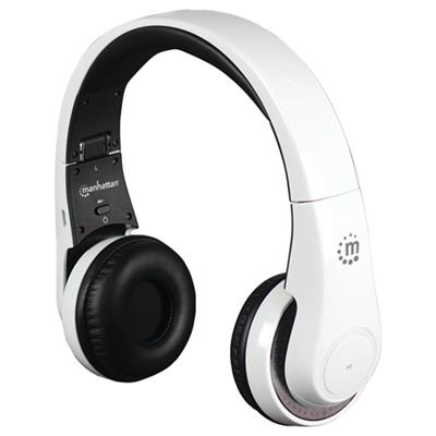 Manhattan Products Flyte Wireless Headset - White (178136)