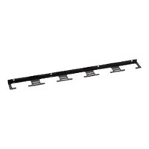 Black Box QuietCab rack cable management panel (vertical) - 12U