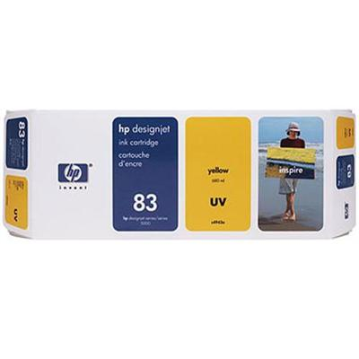 HP 83 680-ml Yellow UV Ink Cartridge (C4943A )