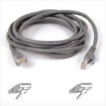 Patch cable - RJ-45 (M) to RJ-45 (M) - 7 ft - UTP - CAT 5e - molded, snagless - red