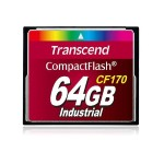 Transcend CF170 Industrial - Flash memory card - 64 GB - 170x - CompactFlash TS64GCF170