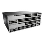 Catalyst 3850-48PW-S - Switch - L3 - managed - 48 x 10/100/1000 (PoE+) - desktop, rack-mountable - PoE+ (435 W) - with 5 x  Access Point Adder License (LIC-CTIOS-1A)