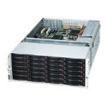 Supermicro SC847 E16-R1K28LPB - Rack-mountable - 4U - extended ATX - SATA/SAS - hot-swap 1280 Watt - black