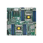 SUPERMICRO X9DAX-7TF - Motherboard - enhanced extended ATX - LGA2011 Socket - 2 CPUs supported - C602 - USB 3.0, FireWire - 2 x 10 Gigabit LAN - HD Audio (8-channel)