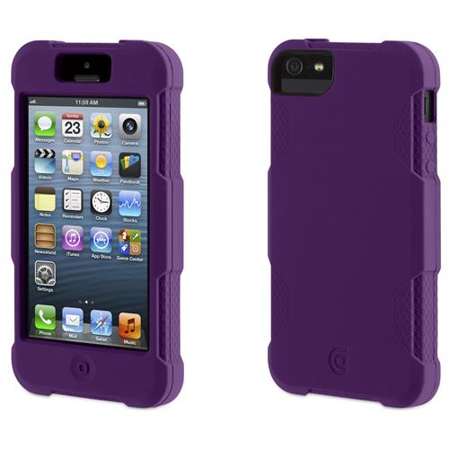 Griffin Survivor Skin for iPhone 5/5s - Purple