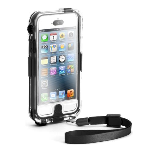 Griffin Survivor + Catalyst Waterproof Case for iPhone 5 - Black/Clear