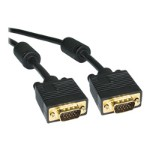 VGA cable - HD-15 (M) to HD-15 (M) - 1 ft - molded - black